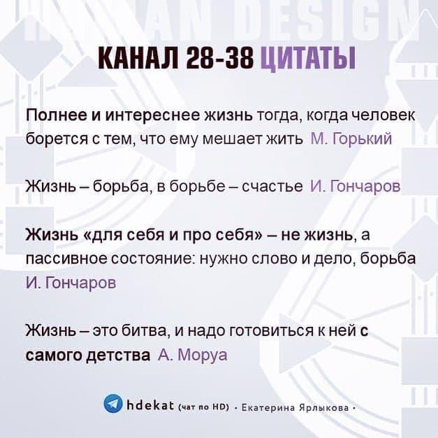 28-38 канал борьбы дизайн человека Human Design