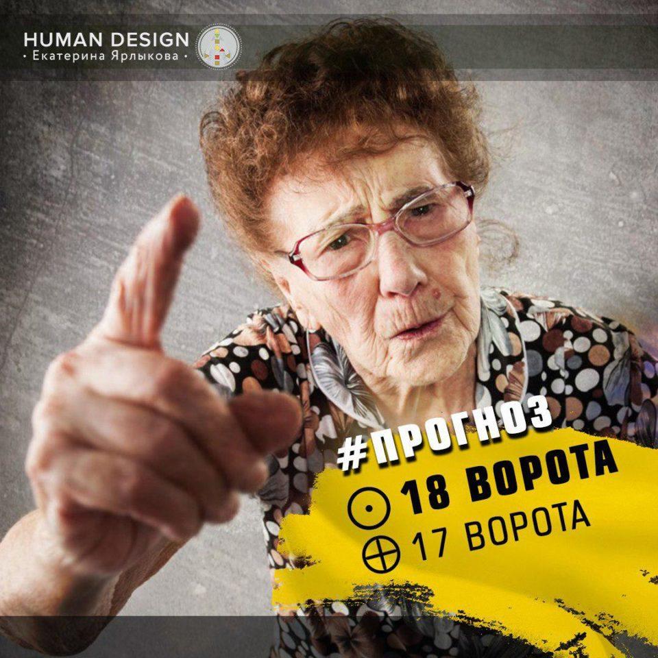 Транзит Планет 28 Сентября — 2 Октября Human Design (Дизайн Человека) 17 и 18 Ворота — Online транзит планет сегодня