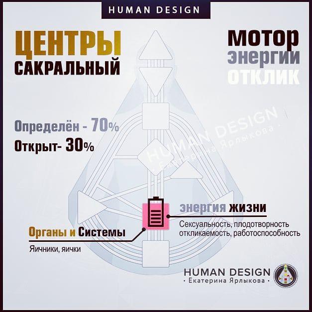 Дизайн Человека — Вводный курс - Урок 5. Сакральный Центр