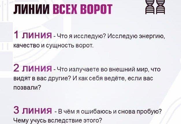 1, 2, 3 линии Human Design Дизайн Человека Екатерина Ярлыкова